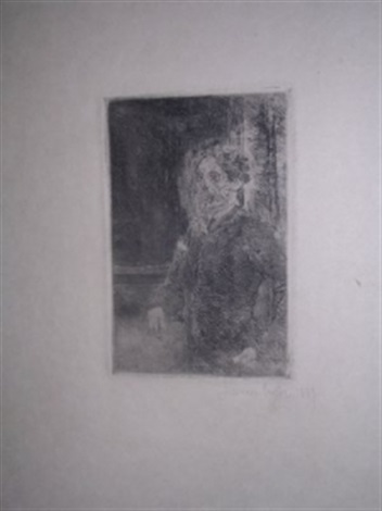 mon portrait squelettise by james ensor