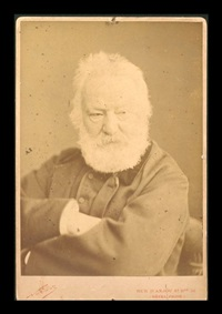 portrait de victor hugo by nadar