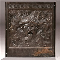 samson central fireback panel by elihu vedder