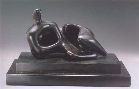 reclining figure curved smooth by henry moore & Reclining figure curved Smooth by Henry Moore on artnet islam-shia.org