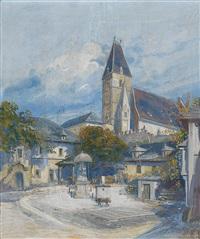 weissenkirchen an der donau by oskar swatusch