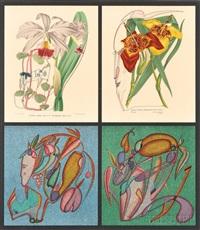 fleur metaphysique by mihail chemiakin