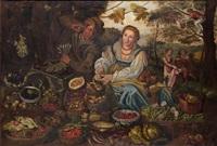 la vendeuse de fruits by vincenzo campi