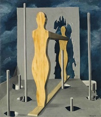 la chambre du devin (the seer's chamber) by rené magritte