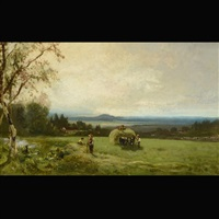 landscape near vallejo, california by william keith