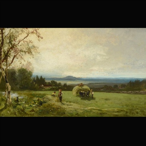 landscape near vallejo california by william keith