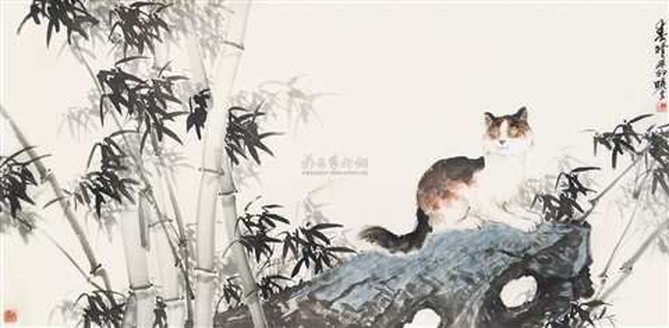 春晴 by wang xiaoyun