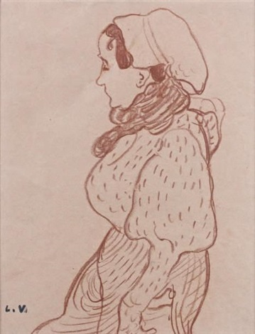 paysanne by louis valtat