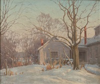 late afternoon by george andrew mock