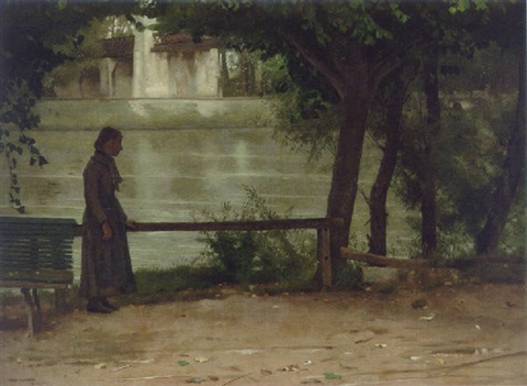 on the banks of the oise by dennis miller bunker