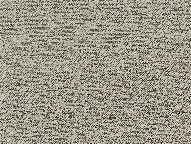 OPALKA 19651 ∞ DETAIL - 404522...