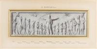 peintres et sculpteurs sous la protection de louis pasteur by édouard joseph dantan