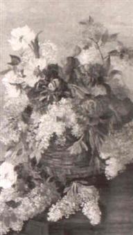 stilleben med blommor by anna billing