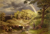 the rainbow by james thomas linnell
