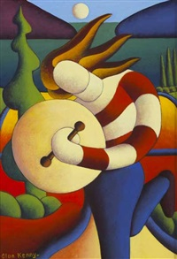 bodhran player by alan kenny