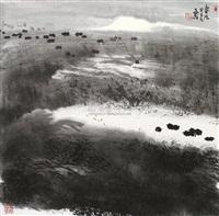 春风 (landscape) by jiang zhixin