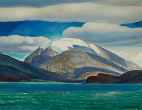 tierra del fuego south america dome mountain by rockwell kent