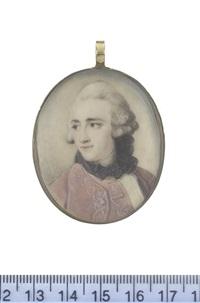 john stuart, 1st marquess of bute, pc, frs (after pompeo girolamo batoni) by ozias humphry
