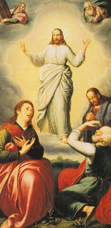 the transfiguration by hispano flemish school 17