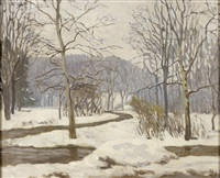 winterlandschaft by rudolf (rolf) ubell