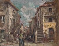 calle con vendedoras by enzo doméstico kabregu