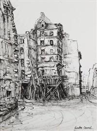 paris disparu, l'hôtel du nord, rue dussoubs by odette camp
