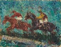 deux cavaliers by andres de santa maria