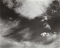 clouds, santa monica by edward weston