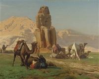 the colossus of memnon by jean-léon gérôme