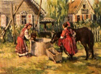 scène de ferme animée by anatollo sokolov