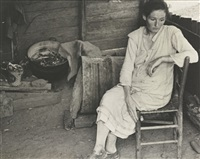 destitute farmer's wife, ozark mts., ark by ben shahn