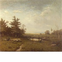in the berkshires, massachusetts by alexander helwig wyant