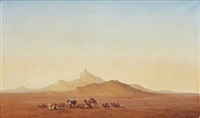 rastande beduiner by henrik august ankarcrona