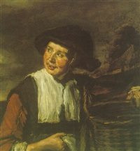 a fishergirl by frans franszoon hals the younger