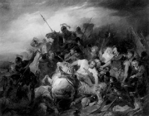 the battle of the spears by nicaise de keyser