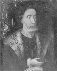 portrait de gentilhomme by jan (joannes sinapius) mostaert