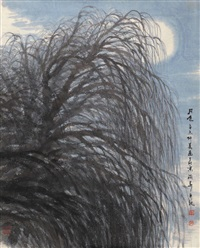 月色 by huang runhua