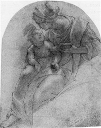 madonna and child by alessandro tiarini