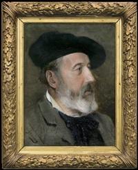 portrait of amedee baudit (a swiss artist) before by alexandre de gassowski