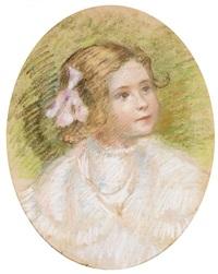 portrait de mlle devèze by georges daniel monfreid