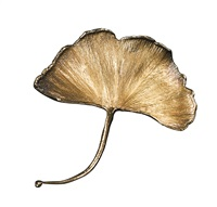 broche gingko by claude lalanne