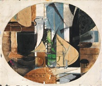cubist abstraction by perle fine