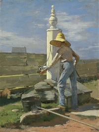 nantucket pump by theodore robinson