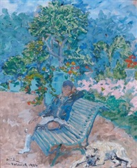 au jardin by leopold pilichowski
