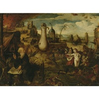 the temptation of st. anthony by pieter huys