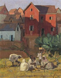village by paul-léon bleger