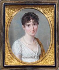 la maréchale ney, duchesse d'elchingen by pierre louis bouvier