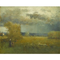 after the storm by george inness