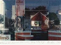 kitchen and home improvement store window, jersey city, n.j by dan graham