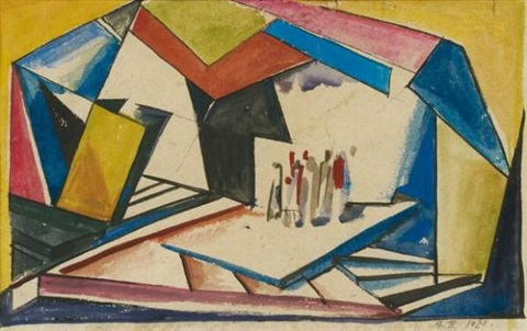 composition by alexander vesnin